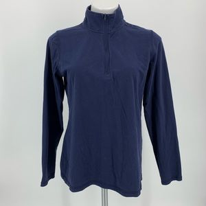 Real Comfort By Chadwick's Half Zip Pull Over